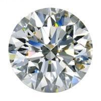 Runde brilliantslipte diamanter